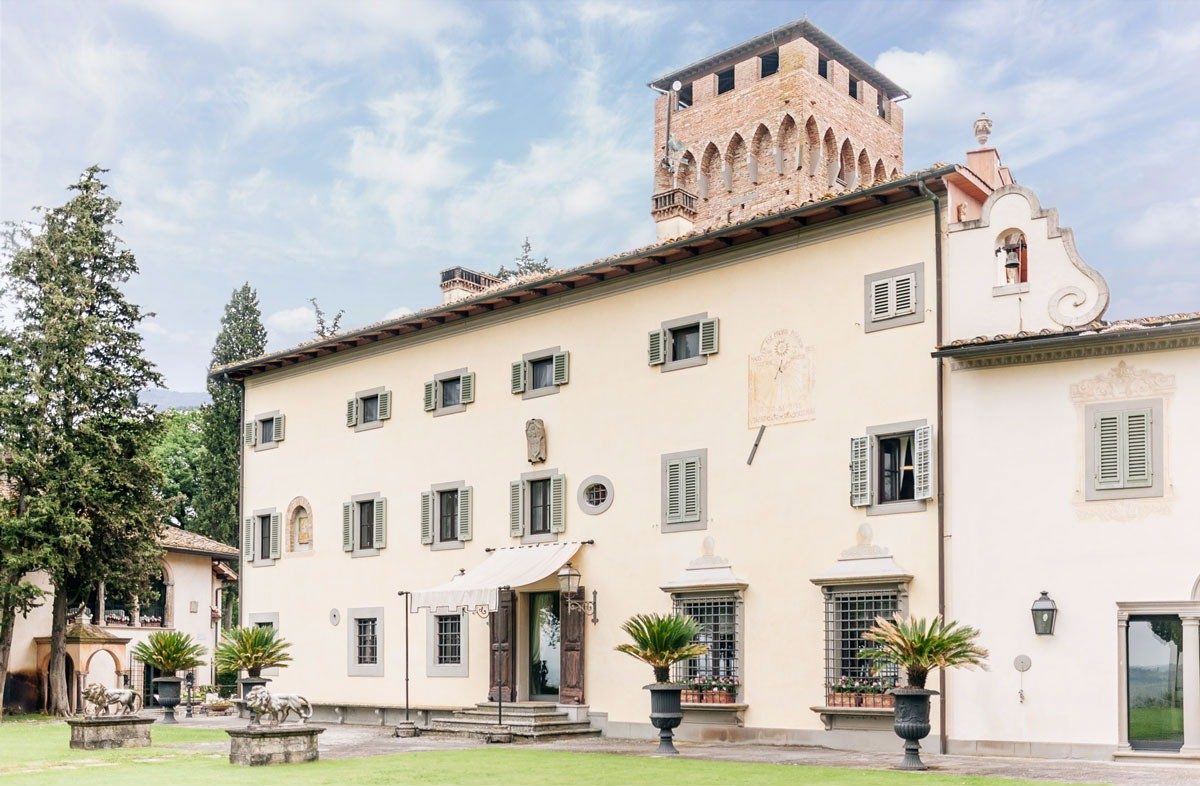 Villa Paterno, a dreamy location in the countryside near Florence