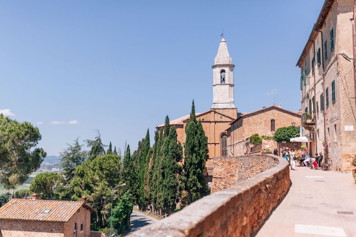 Pienza, a dream town in the heart of Siena