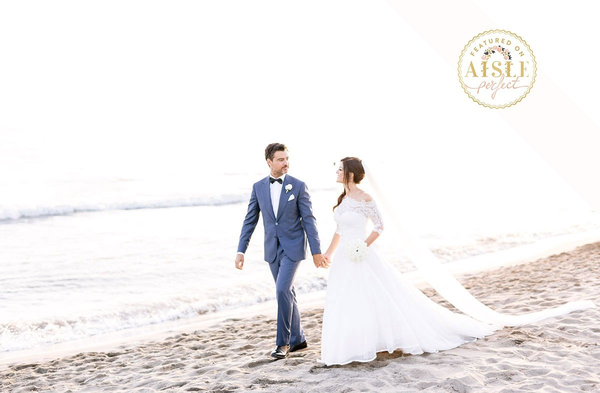 Elegant wedding by the sea in Tuscany