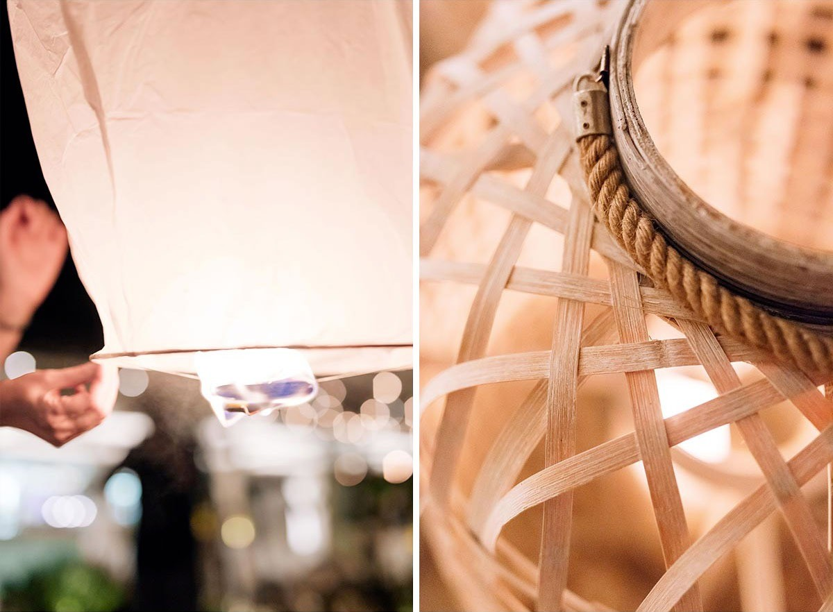Seaside wedding details in Tuscany