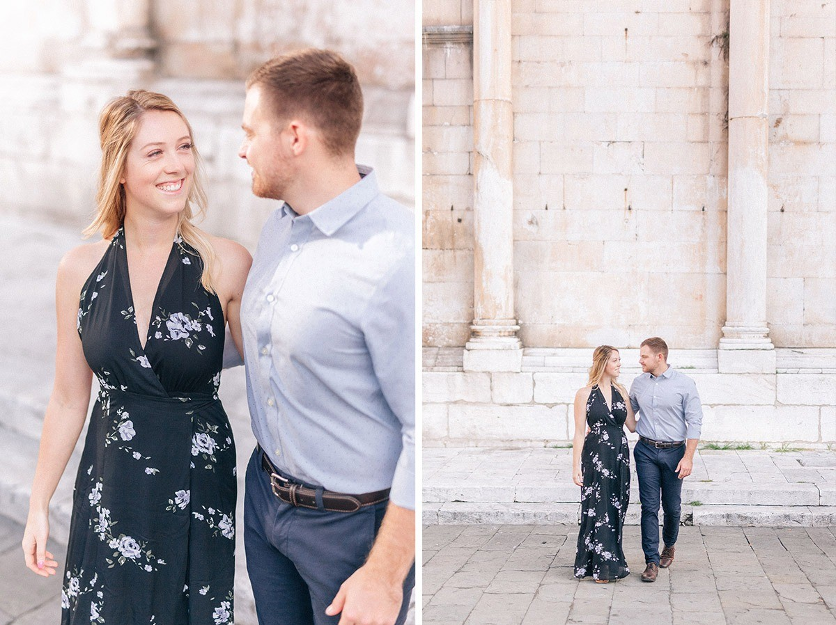 Engagement photos in Lucca (Tuscany)